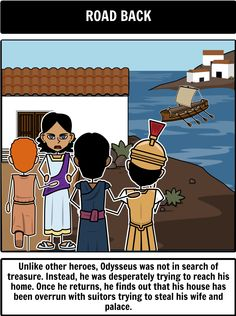 a journey to be a hero in the odyssey a poem by homer Homer's the odyssey  a long narrative poem that tells the adventures of a hero used  10 years after the end of the trojan war theme: a long journey a hero.