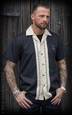 Rumble59 - Lounge Shirt - Let go anchor #anchor #rumble59 #rockabillyrules