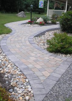 Paver Walkway Installation In Tolland, CT By Bahler Brothers