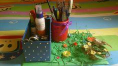 #handmade#multi_purpose#stationary_holder#handmade_nest#decoratedoldboxes_flowers#