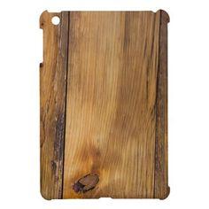 Faux Finished Barn Wood iPad Mini Case