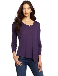 Wilt Women's Placket Twist Long Sleeve Tee « Clothing Impulse