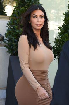 Kim Kardashian Style – Out in Paris, September 2014