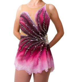Figure Skating Dress / Custom / Dance Dress / Baton Twirling