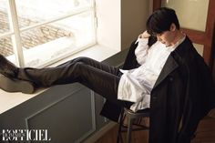 Lee Jong Suk - L'Officiel Hommes Korea