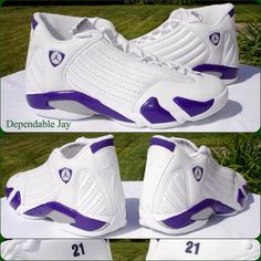 Bobby Simmons Air Jordan 14 Purple Bucks PE