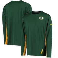Green Bay Packers Nike Vapor Performance Long Sleeve T-Shirt - Green - $37.99