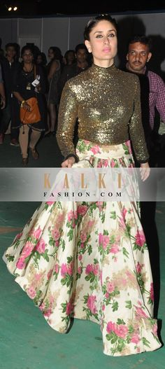 http://www.kalkifashion.com/lehengas/indowestern-gowns-lehengas.html