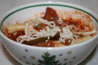 Crock Pot Pizza Soup