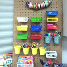 Classroom Organization: Peg Board