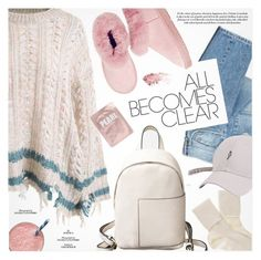 """Cozy Chic"" by pokadoll ❤ liked on Polyvore featuring Two Women in the World, Black and Lapcos"