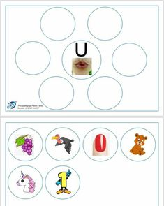 Bilingual Kindergarten, Kindergarten Literacy, Reading Games, Teaching Reading, Letter Find, English Phonics, Preschool Centers, English Reading, Folder Games