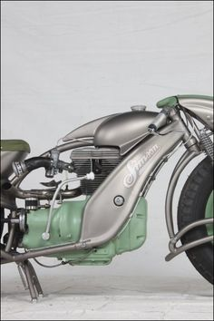Wild Simson Motorcycle.