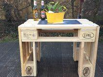 Tisch (Gartentisch) aus Paletten