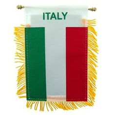 Italy Flag Mini Banner 3 x 5 ** See this great product.
