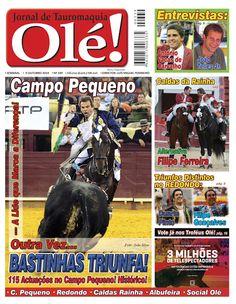 Pátio de Quadrilhas: Capa da Edição Nº 339 do Jornal Taurino Olé!