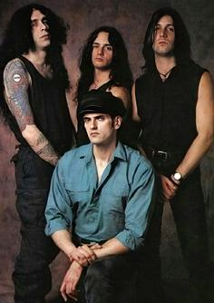 Josh Silver,Kenny Hickey,Peter Steele and Johnny Kelly Type 0 Negative, Doom Metal Bands, Peter Steele, Band Photos, Green Man, Concert Posters, Music Lovers, Rock N Roll, Beautiful People