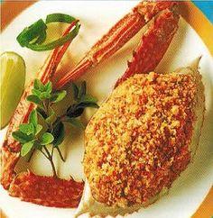Canadian Stuffed Crabs Dinner