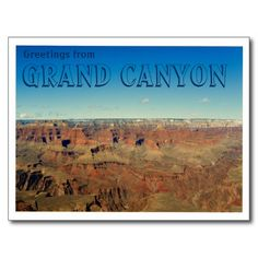 Greetings from Grand Canyon Postcard so please read the important details before your purchasing anyway here is the best buyThis Deals Greetings from Grand Canyon Postcard lowest price Fast Shipping and save your money Now! Grand Canyon Arizona, Thank You Postcards, Postcard Design, Natural Wonders, Postcard Size, Smudging, Paper Texture, Create Yourself, National Parks