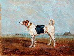 Jack, the Railway Dog by unknown artist      Date painted: 1880     Oil on card, 15.2 x 19.9 cm     Collection: National Railway Museum  Where to see this painting? National Railway Museum Leeman Road, York, North Yorkshire, England, YO26 4XJ