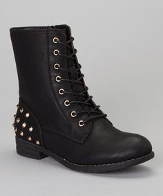Black Studded Sky Boot | Daily deals for moms, babies and kids