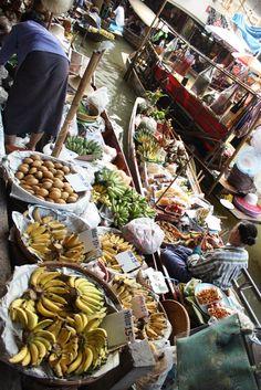 Damnoen Saduak Floating Market - Bangkok, Thailand