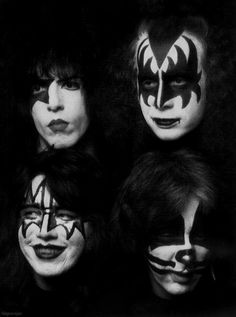 KISS - the hottest band in the world
