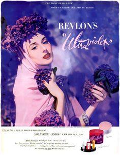 Original Print Ad 1950 Coty Makeup Finger Blend Make-up Price Remains Stable Advertising-print