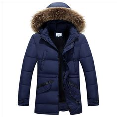 44.52$  Watch here - http://alivup.worldwells.pw/go.php?t=32737147914 - Winter Park Men Coat Man Parka Cotton-padded Jacket Hooded Big Fur Collar Solid Warm Male Outerwear Plus Size M-3XL High Quality