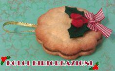 addobbo biscotto di Natale di pannolenci