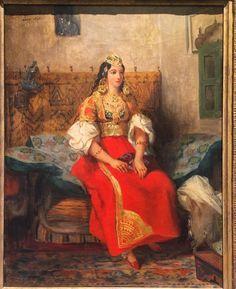 Giclee Print: Portrait of Maria Anna Bonaparte, known as Elisa Baciocchi : Rey Luis Xvi, Delacroix Paintings, Eugène Delacroix, Romanticism Artists, Grand Duc, Empire, Art Ancien, Lucca, Jewish Art