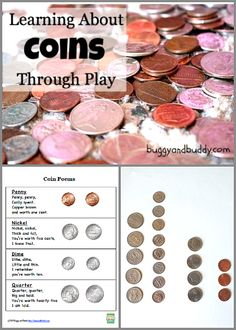 Math for Kids: Learning with Coins through Play ~ BuggyandBuddy.com