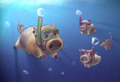 ...and pigs can swim