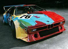BMW Art Car by Andy Warhol