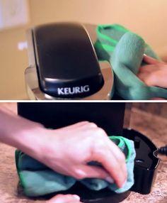 How To Clean Your Keurig Try It Pinterest Keurig