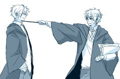 Hetalia- Harry Potter crossover