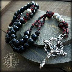 Rosary Beads for Sale, Men's Rosaries, Strong Rosaries, Military Rosary Rugged Rosaries® Paracord Rosary, 550 Paracord, Praying The Rosary, Rosary Catholic, Beads For Sale, Paracord Projects, Mens Fashion Blog, Parenting Toddlers, Rosary Beads