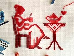 This Pin was discovered by Sev Small Cross Stitch, Cross Stitch Cards, Cross Stitch Designs, Cross Stitching, Cross Stitch Embroidery, Embroidery Patterns, Hand Embroidery, Cross Stitch Patterns, Cross Stitch Pictures
