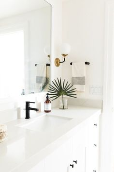 7 Brilliant Tips AND Tricks: Mobile Home Bathroom Remodel Money bathroom remodel floor house.Bathroom Remodel Paint Tile mobile home bathroom remodel money.Old Bathroom Remodel Framed Mirrors. Boho Bathroom, Bathroom Interior, Minimal Bathroom, Bathroom Ideas, Bathroom Lighting, Natural Bathroom, Bathroom Organization, Modern White Bathroom, Navy Bathroom