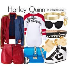 Disney Bound - Harley Quinn (DC Comics - Suicide Squad)