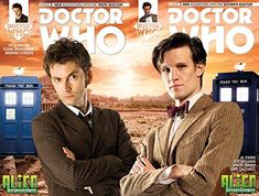 10th & 11th DOCTOR WHO 2014 SDCC Titan Exclusive Photo Cover Comic Book Set - New Adventures with th @ niftywarehouse.com