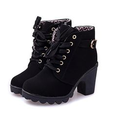 Vintage Shoes new 2014 brand platform high heel single shoes vintage Women Motorcycle Boots Martin Boots,size shipping Lace Up Ankle Boots, High Heel Boots, Heeled Boots, Shoe Boots, Women's Shoes, Ankle Booties, Ankle Shoes, Fall Shoes, Shoes Style