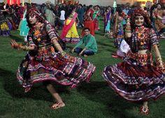 Navratri 2014 first day images Ahmedbad, Gujarat #Navratri #Garba