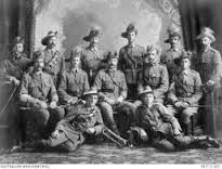 Members of Gympie Light Horse, many wearing emu plumes Wooden Crosses, Legion Of Honour, English Heritage, Lest We Forget, Photo Lighting, Decorative Panels, 16th Century, Ancestry, Printing On Fabric