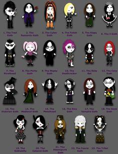 gothic styles