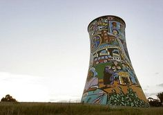#Travel: Cooling Tower, #Johannesburg, #Gauteng, #SouthAfrica.