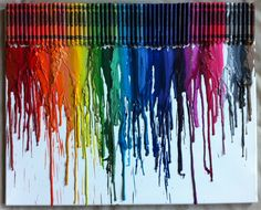 Melted crayon art, I made one and it is fun and easy! Plus there is no way to mess it up!