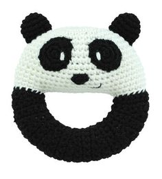 Dandelion - Handcrafted Ring Rattle - Panda | $22.95 Eco Child