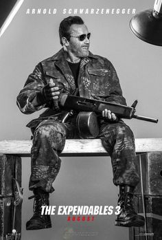 Expendables 3 - Arnold Schwarzenegger - Cosmic Book News