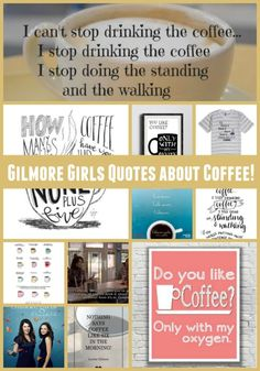 The Best Gilmore Girls Quotes About Coffee | #GilmoreGirls #StreamTeam AD